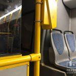 В Кривом Роге горел коммунальный автобус №228