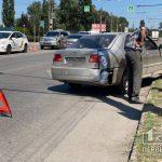 На Днепровском шоссе в Кривом Роге столкнулись Chery и Opel