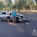 В Кривом Роге две легковушки попали в ДТП