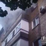 Криворожские пожарные спасли жизнь мужчины, который был в горящей квартире
