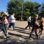 Онлайн: Владимир Зеленский без СМИ проинспектировал криворожский стадион «Металлург»