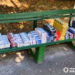 Около тысячи пачек контрафактных сигарет изъяли у мужчины полицейские в Кривом Роге