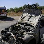 Пятеро пострадавших в ДТП с маршруткой в Кривом Роге