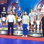 Криворожане завоевали медали на чемпионате по вольной борьбе