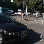 ДТП в Кривом Роге: в аварию попали маршрутка и легковушка