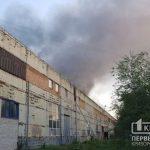 На криворожском предприятии по изготовлению ванн случился пожар