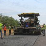 На участке трассы между Кривым Рогом и Кропивницким на 65% выполнили ремонтные работы