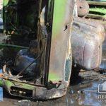 Криворожанин пострадал во время возгорания собственного авто