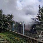 Сгорели солнечные батареи и крыша: в частном доме в Кривом Роге произошел пожар