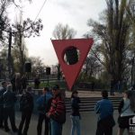 Европейская зарплата: в Кривом Роге митингуют заводчане