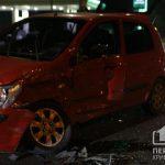 На объездной дороге в Кривом Роге столкнулись Mercedes и Hyundai