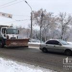 Более 5 тонн посыпочного материала заготовлено в Кривом Роге на зиму