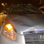 В Кривом Роге на светофоре сбили девушку