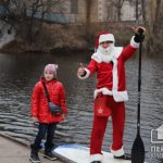 Криворожане устроили новогодний сюрприз в парке