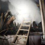 30 куриц погибли в пожаре в Кривом Роге