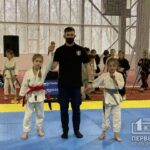 Восемь медалей завоевали криворожане на Международном турнире джиу-джитсу