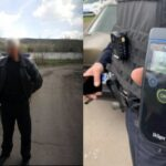 Пьяный криворожанин с пистолетом въехал на территорию предприятия и повредил ограждение