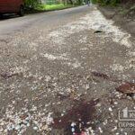 В Кривом Роге обнаружили окровавленный труп женщины возле жилого дома
