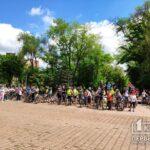 Больше сотни криворожан собрались на Велодень-2021