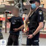 В Кривом Роге патрульные задержали вора