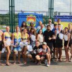 В Кривом Роге провели соревнования для любителей волейбола