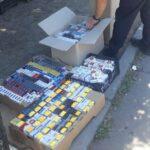 В Кривом Роге полицейские изъяли полторы тысячи контрафактных сигарет