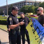 Україна — це ти! Поліція зебезпечила мирне проведення акції ЛГБТ-спільноти