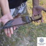 Инспекторы роты ТОР обнаружили криворожанина с ножом