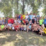 На Северном ГОКе Метинвеста прошел 15-й юбилейный матч по волейболу и футболу
