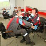 На Ингулецком ГОКе провели тренинг для персонала по оказанию первой помощи