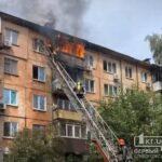 В Металлургическом районе возник пожар в жилом доме