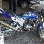 В Терновском районе Кривого Рога полицейские случайно нашли мотоцикл, который был в розыске