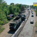У напрямку Кривого Рогу почали ремонт дороги Н-23