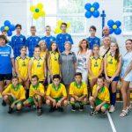 Криворізькі ГЗК облаштували нову спортивну залу у Глеюватській громаді