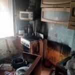 В Кривом Роге спасатели ликвидировали пожар в одной из квартир многоэтажки