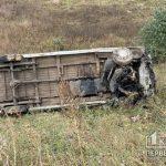 Недалеко от Кривого Рога авто слетело в кювет — водитель погиб