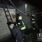 Спасатели потушили пожар в летней кухне в селе Криворожского района