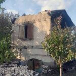 Пожар на даче и в частном доме: служба ГСЧС ликвидировала два пожара в Кривом Роге