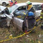 Под Кривым Рогом в результате аварии погиб человек
